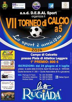 notizie lucane, basilicata news: Ha preso il via la 7^ edizione di Calcio a 5 a Ven...