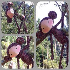 Macaquinho Floral - Tilda's Toy Box