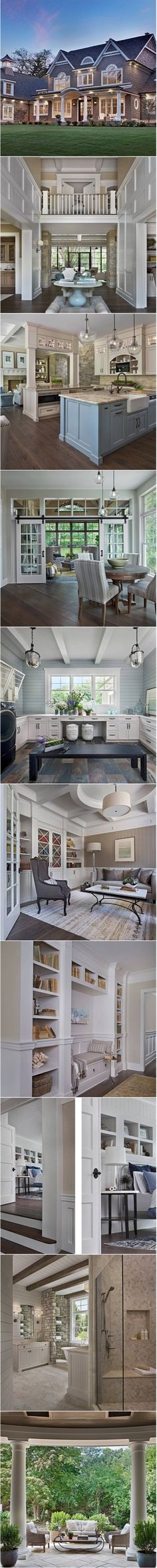 Showcasing the work of the husband wife team from my previous hometown of Grand Rapids Michigan { Vanbrouck and Associates } Interior Design Minimalist, Modern House Design, Home Interior Design, Exterior Design, Le Living, Fachada Colonial, House Goals, My New Room, My Dream Home