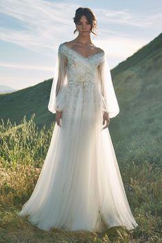 Tadashi Shoji Bridal Spring 2020 Collection - Vogue