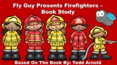 Fly Guy Presents Firefighters Book Study. This pack includes: an anticipation…