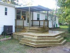 Mobile Home Deck - Front Porch Ideas