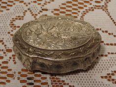 Vintage Jewelry Trinket Box  -  Brass Jewelry Casket  -  15-694 by BubbiesMemories on Etsy