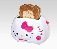 @Sarah Martin Christmas gift for your sister- there is so much hello kitty stuff on pintrest....How can any day that starts with hello kitty on your toast be bad?? $35