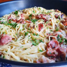 Pasta Carbonara, Danish Food, Italy Food, Bacon, Meal Planner, One Pot Meals, Vegetable Dishes, Food Inspiration, Italian Recipes