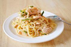 鶏ささみとキムチの冷製パスタ スイーツ男子の簡単料理レシピ