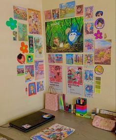 Room Design Bedroom, Room Ideas Bedroom, Bedroom Decor, Indie Room Decor, Cute Room Decor, Chambre Indie, Hangout Room, Otaku Room, Cute Room Ideas
