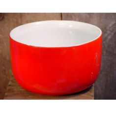 Hall's Superior China Red Mixing Bowl