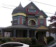 Victorian home at Vernon St, Brookline, MA