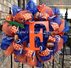 Florida Gators College Football Wreath by lindsey.m.coleman.9