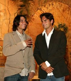 Rafa_Roger in suits
