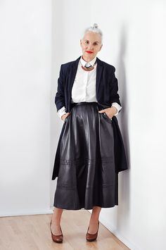 Jackie Burger is former editor of Elle South Africa and owner of Salon58. And she has fabulous style.
