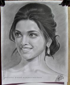 "Drawing, ""pencil portrait of deepika padukone"" Discover The Secrets Of Drawing Realistic Pencil Portraits Pencil Drawing Images, Pencil Sketch Portrait, Portrait Sketches, Art Sketches, Drawing Portraits, Tattoo Sketches, Worli Painting, Potrait Painting, Buddha Painting"