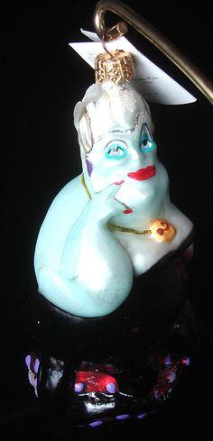 christopher radko christmas ornament ursula 97 dis 83 disneys little mermaid a