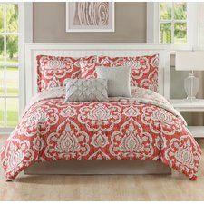 Dorian 7 Piece Reversible Comforter Set