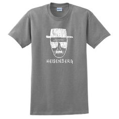 Heisenberg T-Shirt Saul Goodman BREAKING BAD AMC TV Show Short Sleeve Tee Large Sport Grey
