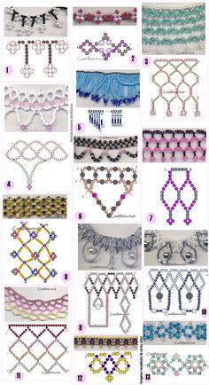 How to make 13 Peyote Techniques <sub> Jewellery </ sub> - enrHedando