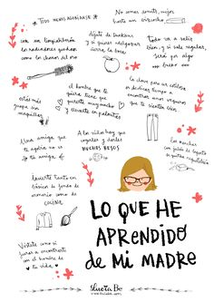 Lo que he aprendido de mi madre Mom Quotes, Life Quotes, Mom Poems, Daily Quotes, Mr Wonderful, Happy Mother S Day, Mom Day, Teaching Spanish, More Than Words