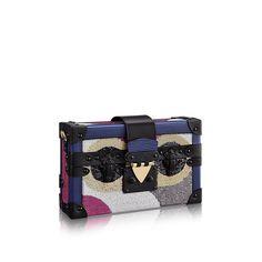 2fd22df59bb Discover Louis Vuitton Petite Malle via Louis Vuitton Leather Shoulder Bag