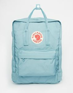Would love to have this bag!!! Fjallraven Kanken in Sky Blue
