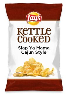 Wouldn't Slap Ya Mama Cajun Style be yummy as a chip? Lay's Do Us A Flavor is back, and the search is on for the yummiest flavor idea. Create a flavor, choose a chip and you could win $1 million! https://www.dousaflavor.com See Rules.