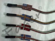 My heart just skipped a beat!!! flags by Fager Design  www.iconadeironchi.com Most elaborate browbands ever