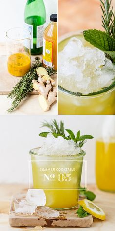 Try this Ginger Rosemary Switchel recipe for a new take on this classic drink from @Luvoinc #Luvo #Cocktail #Recipe