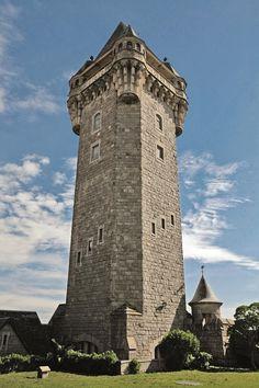 Mirador de la Torre Tanque, Mar del Plata. Buenos Aires