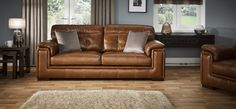 The Duchess maxi sofa combines a mixture of genuine leather and leather look fabric for increased durability, with foam seat interiors and frame guarantee. Buy sofas online now at ScS. Buy Sofa Online, Scs Sofas, Best Carpet, Couch, Living Room, Interior, Sofa Ideas, Furniture, Home Decor