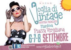 voglia di vintage, dal 6 all'8 settembre a Mantova