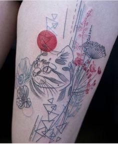 Marta Lipinski Dead Romanoff cat tattoo