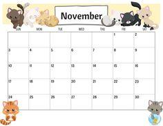 Colorful Cute November 2019 Calendar Images - Net Market Media Colorful Cute November 2019 Calendar Images