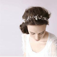 Handmade Leather Rope Brown Feather Headbands Wood Beads Boho Hair Accessories Fashion Jewelry