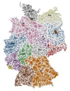 ZIPScribbleMap Germany