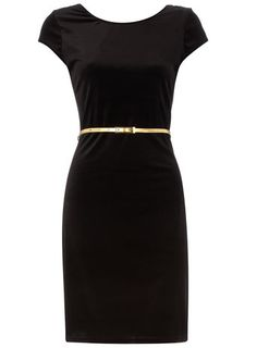 I love the ladylike figure of this dress. I WANT!