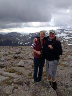 Sharon & Andy of Cairngorm Leaf & Bean at Logie Steading
