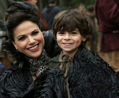 OUAT Regina and Roland. Outlaw Queen.