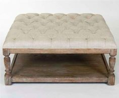 ottoman coffee table | Back to Post :Amazing Tufted Ottoman Coffee Table Design