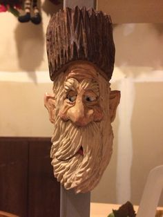 Setting Up Shop – Hand Power Tools – The Woodworking Shop Wood Carving Faces, Tree Carving, Wood Carving Art, Wood Art, Wood Carvings, Pirate Face, Outdoor Wood Projects, Whittling Wood, Wooden Walking Sticks