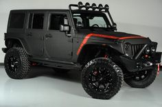 Rhino Lined kevlar-   2014 Jeep Wrangler Unlimited (24S Pkg) We Finance in Dallas, Texas