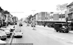 Dunstable, High Street North 1967, from Francis Frith