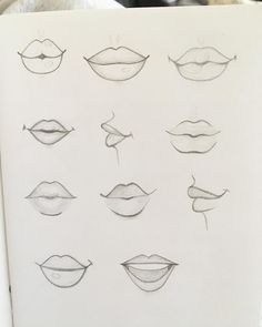 Practicing lip drawing seems like a strange thing on a Monday night . - Practicing lip drawing seems like a strange thing to do on a Monday night – - cartoon drawings Pencil Art Drawings, Art Drawings Sketches, Cartoon Drawings, Easy Drawings, Cartoon Art, Drawings Of Lips, Drawings Of Mouths, Cartoon Illustrations, Weird Drawings
