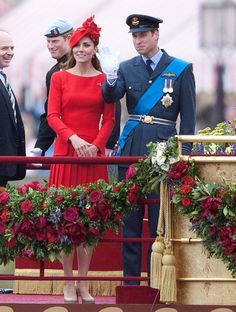 Prince William and Kate Middleton during the Queen's Diamond Jubilee celebrations.