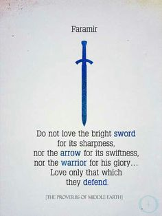 Faramir. One of my favorite characters of LOTR. In the books, he is wise, gentle, kind and a true friend. However, the character in the movie can't do any justice to him.