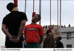 Islamic regime in Iran hanged 11 Prisoners in Tehran BECAUSE YOU ARE A  CHRISTIAN AND THEY DO NOT LIKE YOU.