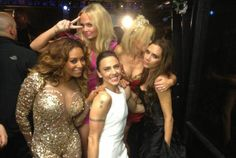 Spice Girls make an appearance at the Closing Ceremony!