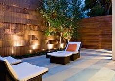 Modern patio Design of Pacific Heights with Garden Lighting by Randy Thueme Design Inc. Landscape Architecture 10 Awesome Modern Patio Design Ideas for Your Home