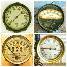 Antique / Vintage / Dial / Gauge / Faces / Steampunk Diselpunk