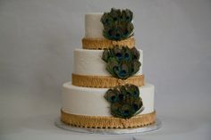 Pinterest Peacock Cakes | Peacock Weddings Cake Topper Chocolate Brown On Pinterest