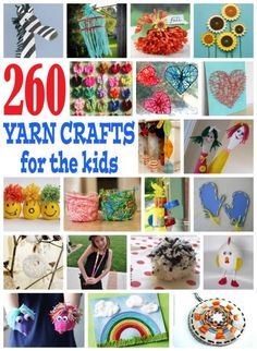 You don't have to know how to crochet or knit to make fun yarn crafts for kids. There are many...